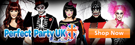 Perfect Party UK - Halloween Costumes and Accessories