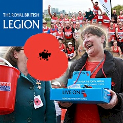 Link to the The Royal British Legion website