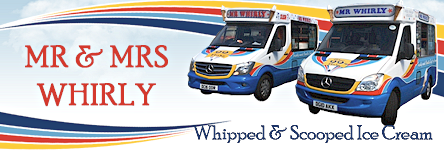 Mr & Mrs Whirly Ice Cream Ltd - Whipped & Scooped Ice Cream