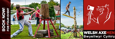 Welsh Axemen - The Sport of Axe Racing