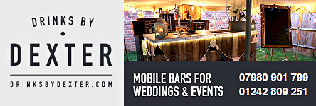 Drinks by Dexter - A Rather Charming Rustic Mobile Bar