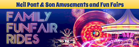 Neil Pont & Son Amusements & Fun Fairs - Family Funfair Rides