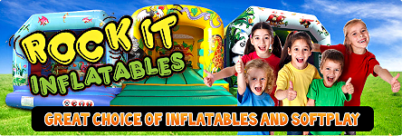 Rock It Inflatables - Great Choice of Inflatables and Soft Play