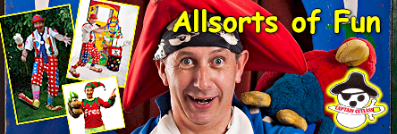 Allsorts of Fun - Themed Parties and Birthday Parties