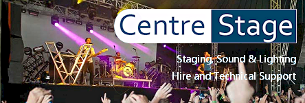 Centre Stage - Indoor and Outdoor Stage Hire