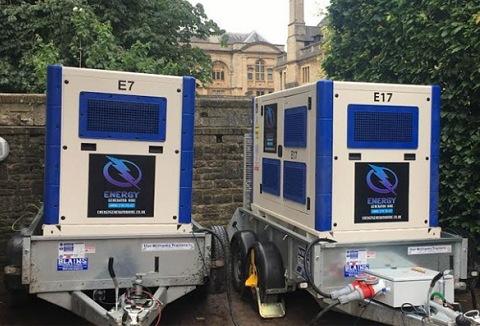 Link to the Energy Generator Hire Ltd website