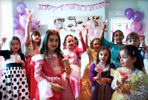 Link to the Party Princess UK website