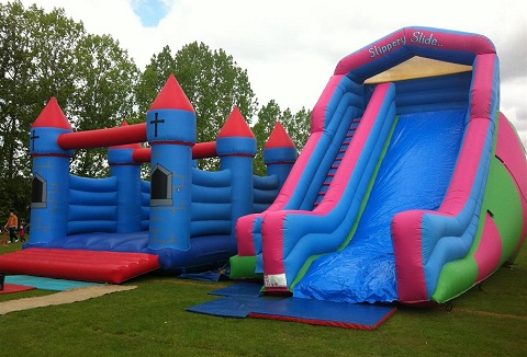 Link to the Col's Bouncy Castles web page