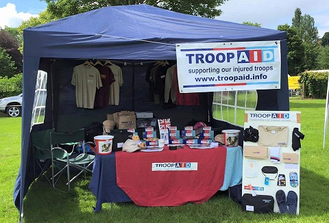 Link to the Troop Aid website