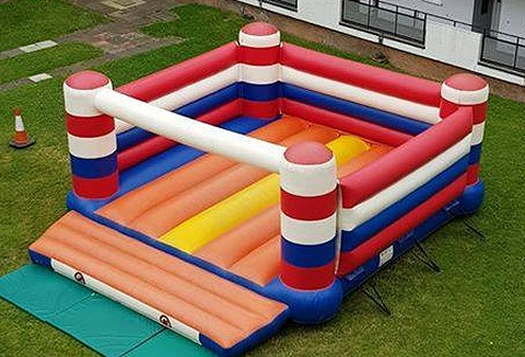 Link to the Mr M Bouncy Castle website