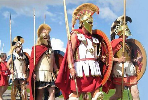 Link to the The Hoplite Association website