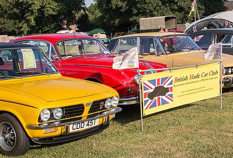 Link to the British Made Car Club website
