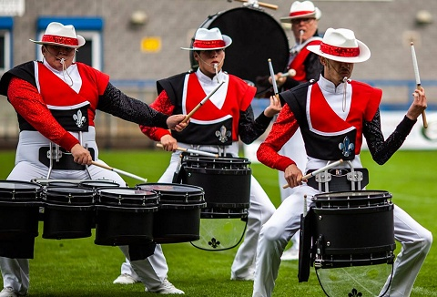 Link to the Kidsgrove Scouts Drum and Bugle Corps website