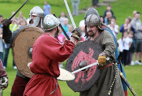 Link to the The Glasgow Vikings website