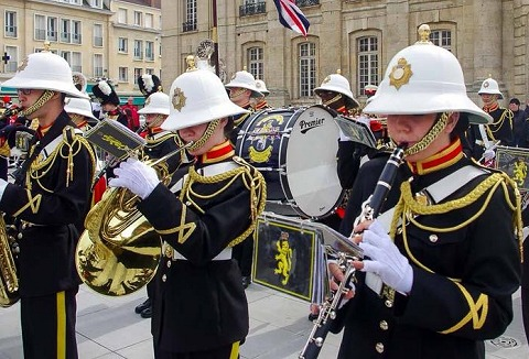 Link to the Royal British Legion Band & Corps of Drums website