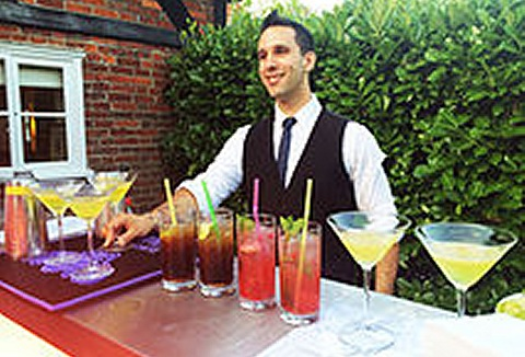 Link to the Go Bartenders Hire website