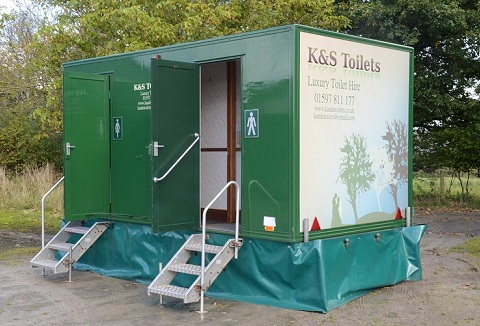 Link to the K & S Toilets website