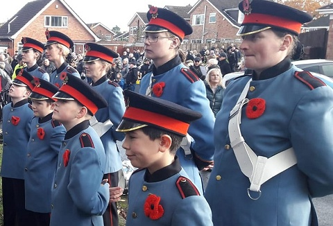 Link to the Kings Norton Youth Marching Band website