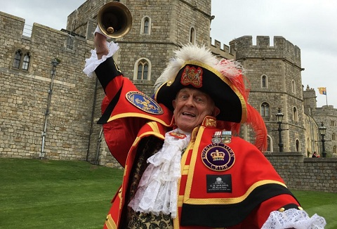 Link to the The English Town Crier website