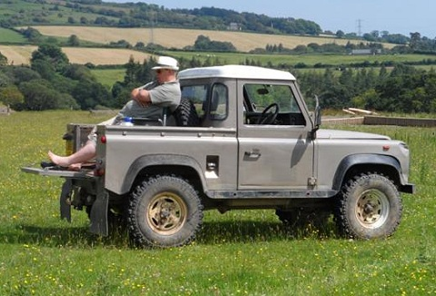 Link to the Cornwall and Devon Land Rover Club website