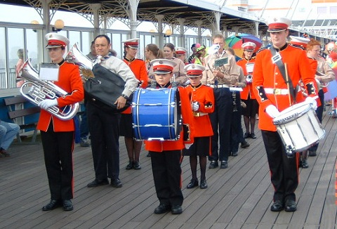 Link to the Halesowen Scout Band website