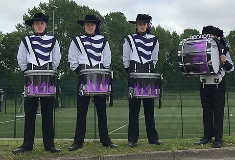 Link to the The Pacemakers Drum & Bugle Corps website