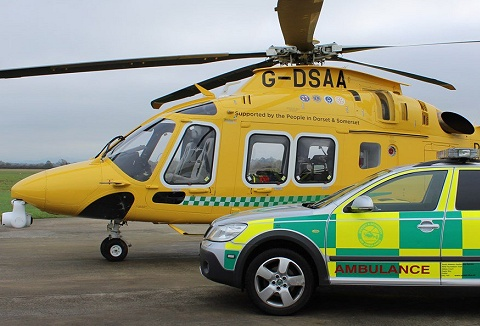 Link to the Dorset & Somerset Air Ambulance website