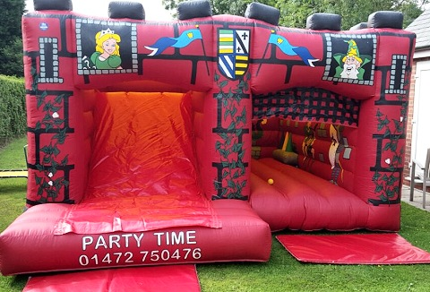 Link to the Party Time Grimsby website
