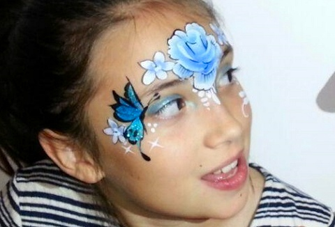 Link to the The Face Painting Bug website