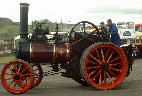Link to the Scottish Traction Engine Society website