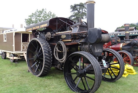 Link to the Bedford Steam Engine Preservation Society website