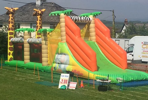 Link to the Fun-Tasia Events & Inflatable Hire website