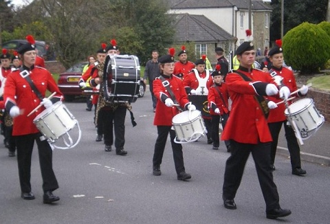 Link to the Dorset Youth Marching Band website