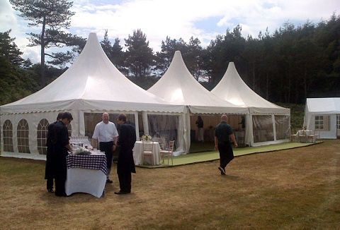 Link to the Arc Marquees Ltd website