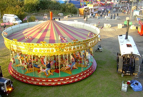 Link to the Howards Imperial Funfair website