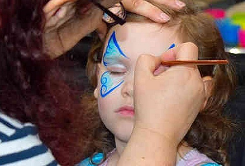 Link to the Izzy's Face Painting website