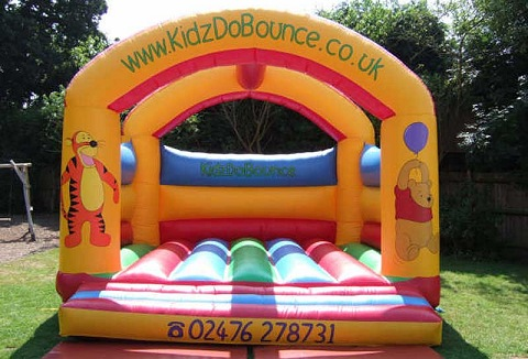 Link to the Kidz Do Bounce website
