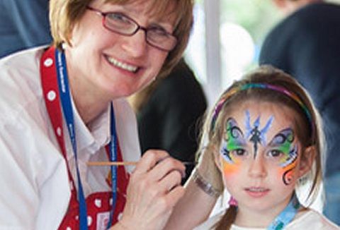 Link to the Powwow Face Painting website