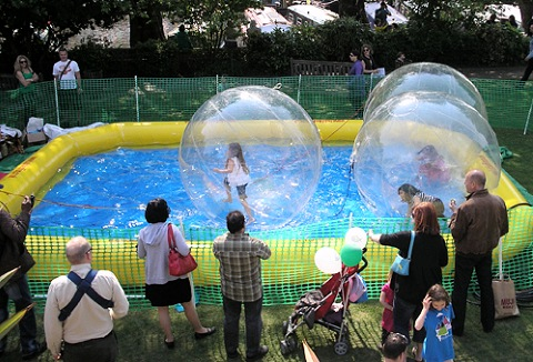Link to the Bubble of Fun website