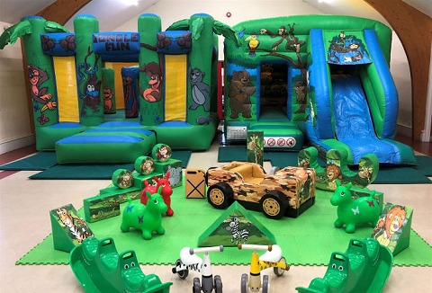Link to the Rock It Inflatables website