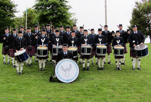 Link to the Bucksburn and District Pipe Band website