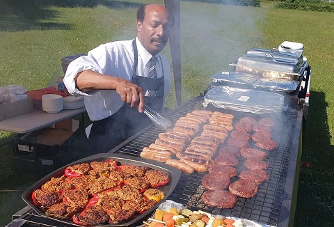 Link to the Mobile BBQ & Catering website