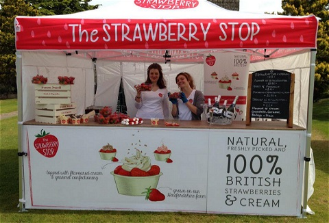 Link to the The Strawberry Stop website