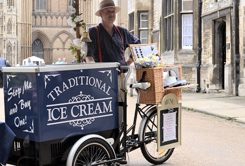 Link to the The Ice Cream Bike Company website