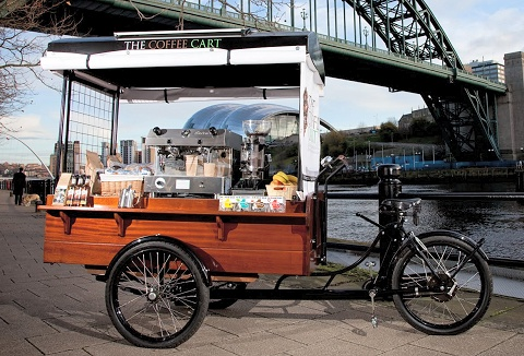 Link to the The Coffee Cart website