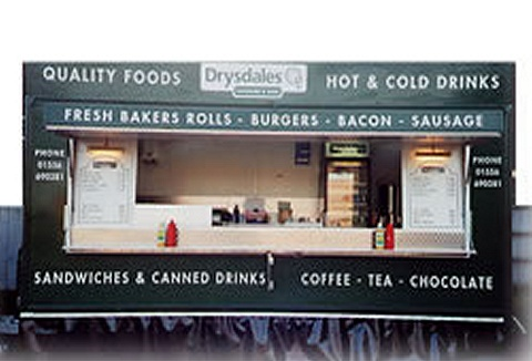 Link to the Drysdale Catering and Bars website
