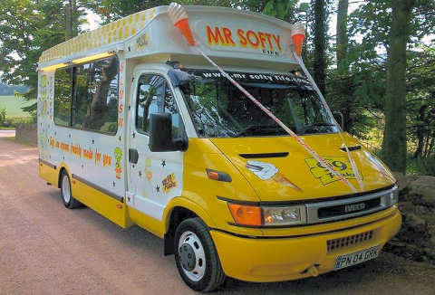 Link to the Mr Softy Fife website