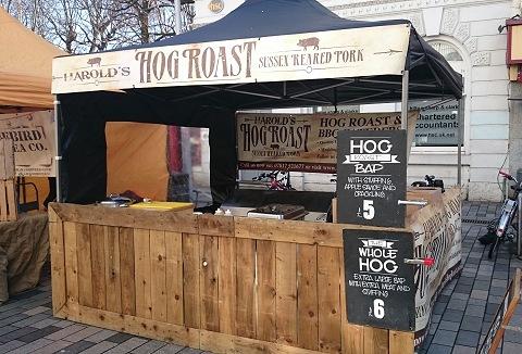 Link to the Harold's Hog Roast website