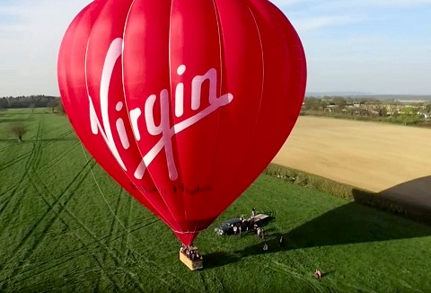 Link to the Virgin Balloon Flights website