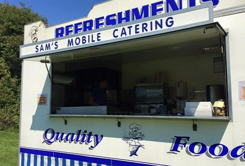 Link to the Sams Mobile Catering website